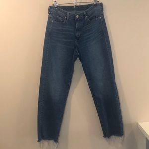 Banana Republic Mid Rise Straight Jeans SZ 30
